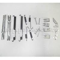 Комплект деталей крепления задних тормозных колодок для VW Polo седан, VAG 6RU698545A