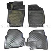 Коврики в салон для VW Polo седан, Element NLC.3D.51.30.210k (Новлайн-Autofamily)