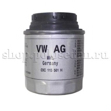 Фильтр масляный для VW Polo седан, MPI 1.6 (85, 105 л.с.), VAG 03C115561H