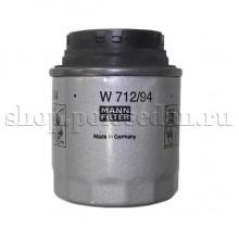 Фильтр масляный для VW Polo седан, MPI 1.6 (85, 105 л.с.), MANN W712/94
