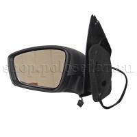Зеркало левое для VW Polo седан (электр.) в сборе, NSP086RU857507P9B9