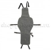 Накидка на детское автокресло из овечьей шерсти (серая) для VW Polo седан