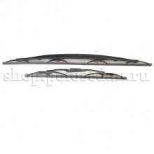 Щетки стеклоочистителя (комплект) для VW Polo седан, VAG 6RU955425C, 6RG955425A