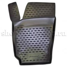 Коврик в салон 3D для VW Polo седан передний левый, Novline NLC.51.30.210kfl