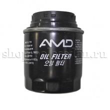 Фильтр масляный для VW Polo седан, MPI 1.6 (85, 105 л.с.), AMD.FL718