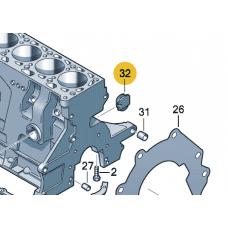 Заглушка для VW Polo седан (АКПП), VAG 030103037E