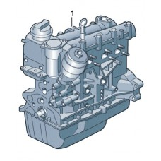 Двигатель с ГБЦ для VW Polo седан, VAG 03C100041G