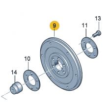 Ведущий диск для VW Polo седан, VAG 038105327B