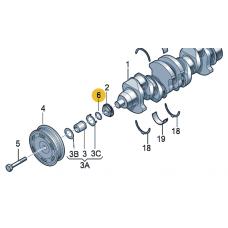 Уплотнительное кольцо для VW Polo седан, VAG N90903201