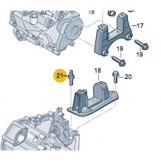 Винт двойной с шестигранником для VW Polo седан, VAG N91108901