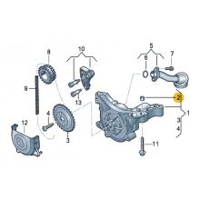 Втулка центрирующая для VW Polo седан, VAG 03C115143