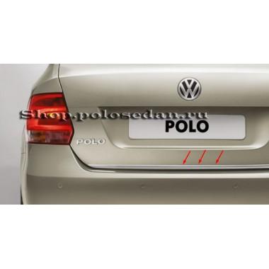 Накладка защитная на багажник для Polo седан (c 2010 г.в. по н.в.), VAG 6RU8539552ZZ
