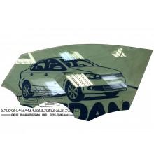 Стекло двери переднее левое для VW Polo седан, VAG 6RU845201A