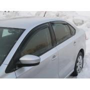 Дефлектора на двери VW Polo седан (c 2010 г.в. по н.в.), SIM