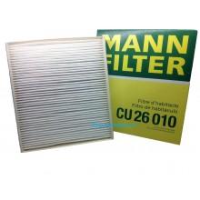 Фильтр салона для VW Polo седан, MANN CU26010