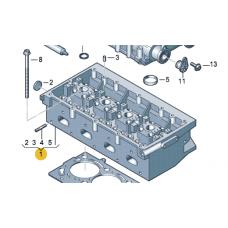 Головка блока цилиндров для VW Polo седан, VAG 03C103351K