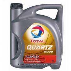 Масло моторное синтетическое TOTAL QUARTZ 9000 4л. 5W40