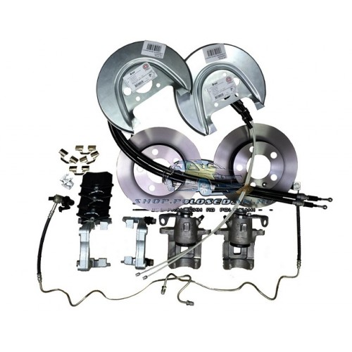 схема тормозной системы в фольксваген поло седан