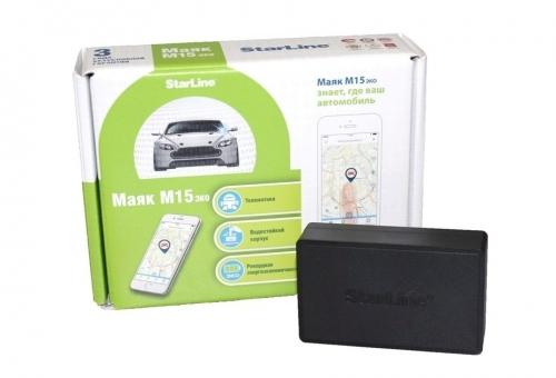 Установка автономного поискового устройства Маяк StarLine M15 ЭКО на Volkswagen POLO седан