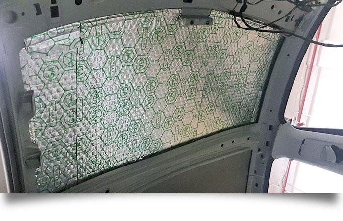 Шумоизоляция потолка Volkswagen